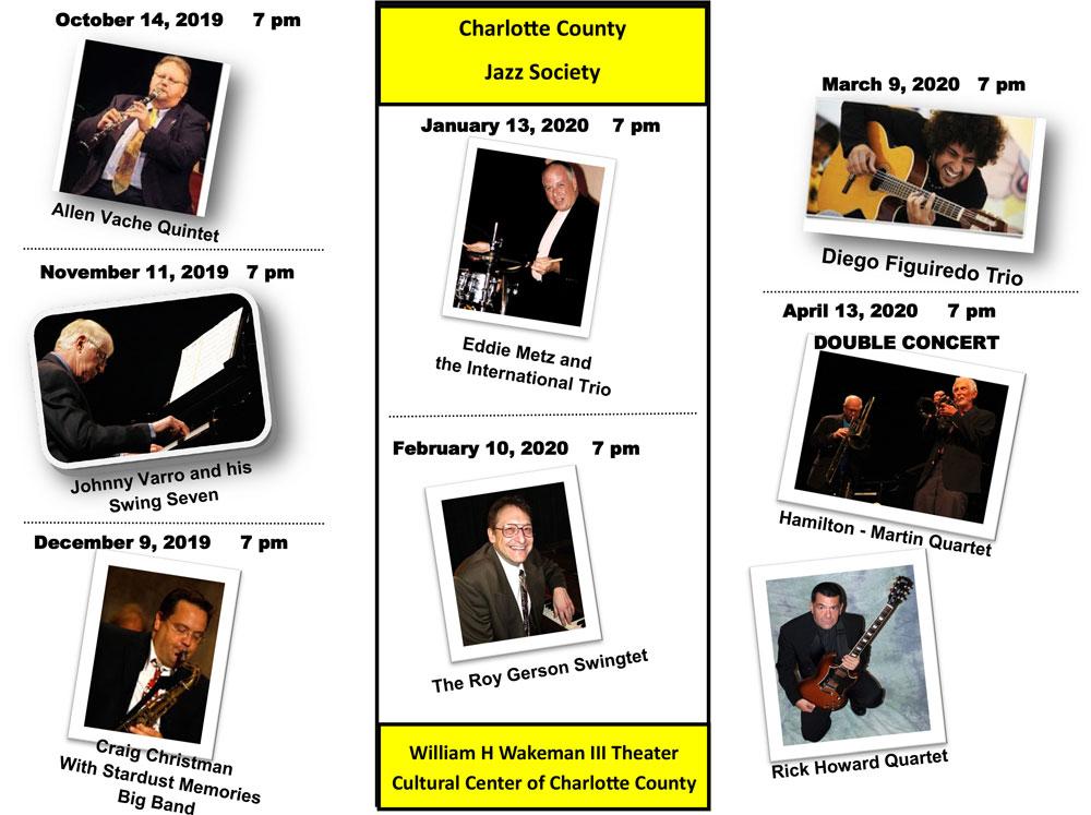 2019-2020 Concert Series brochure